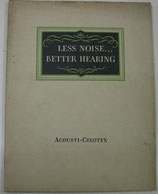 ACOUSTI-CELOTEX   Used in BUILDINGS of ALL Types for Sound Absorption