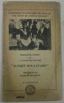 "Dialogue Script of ""Sunset Boulevard""  「時事英語研究」第六巻第十一号附録"