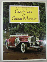 AUTOMOBILE QUARTERLY'S    Great Cars & Grand Marques