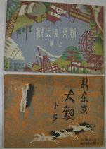 新東京大観 上・下巻 大東京市制記念 東京朝日新聞社附録