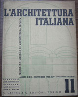 L'ARCHITETTURA ITALIANA Novembre 1935