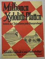 Millionen Xylolith-Platten