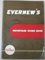 EVERNEW'S  MOUNTAIN GUIDE BOOK  1960