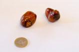 Trommelstein Achat rot (Fleischachat)