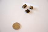 Turmalin gelb Dravit Kristall Stück ca.1-2cm