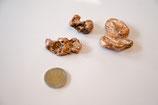 Trommelstein Kupfer Nugget