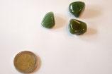 Trommelstein Chalcedon grün (Chromchalcedon)