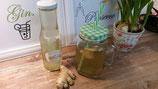 Ingwer-Sirup mit Zitrone