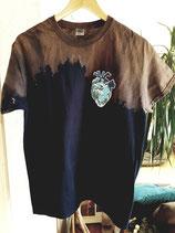 Shirt Ocean Heart dunkel-blau