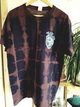 Shirt Ocean Heart blau-rose