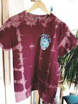 Shirt Ocean Heart bordeaux