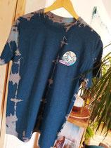 Shirt Surfing T-Rex turquoise-rose