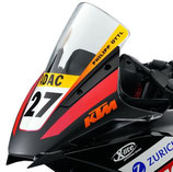 WINDSCREEN RACING BUBBLE Only for racing! (RC125-200-390)