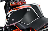 Fuel tank protection sticker set
