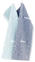 Handtuch FISUT türkis 46x70 cm
