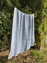 Decke MAIJA weiß-blau 130x200cm