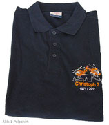 "Unser Polo-Shirt ""40 Jahre Christoph 3"""