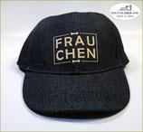 "Denim Kappe ""Frauchen"""