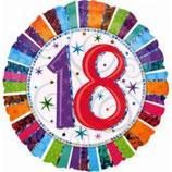 Geburtstagsballon mit Zahl