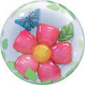 Bubble Ballons Doppel / Flower