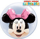 Bubble Ballons Doppel Mickey & Minnie