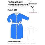 Fertigschnitt Hemdblusenkleid 105