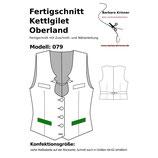 Fertigschnitt 079 Kettlgilet Oberland (Untersetzte Größen)