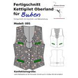 095 Fertigschnitt Kettlgilet Oberland für Buben