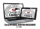 CORSO INTERNAL AUDITOR OHSAS 18001 CONVENZIONE