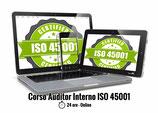 Corso Auditor Interno ISO 45001 CONVENZIONE