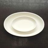 ovale Platte