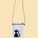 Bolso Malena o Mini Cat Black
