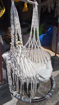 Bohemian style hangstoel