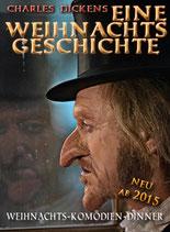 """Gutschein """"Eine Weihnachtsgeschichte"""" - Theaterdinner"""
