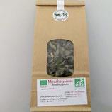 Menthe poivrée (mentha piperita ou menthe médicinale) feuilles séchées et émondées
