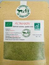 Romarin poudre extra fine de feuilles pour la cuisine