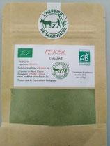 Persil, poudre extra fine de feuilles pour la cuisine