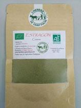 Estragon, poudre extra fine de feuilles séchées pour la cuisine