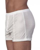 Boxer - coton - fil d'écosse Oscalito 2615 - blanc - coton