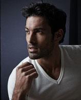 T-Shirt Homme - Oscalito 742 - Blanc - à encolure en V