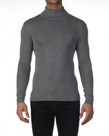 Pull col roulé Oscalito 629 - Gris- Manches longues