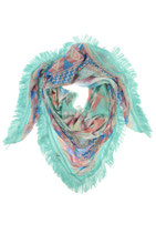 Sjaal - Graphics MintGroen