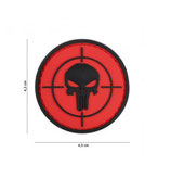 Patch Punisher cible rouge