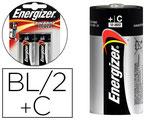 PILE ENERGIZER ALCALINE POWER I.C.E. LR14 TAILLE C BLISTER 2U