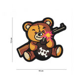 Patch Teddy marron