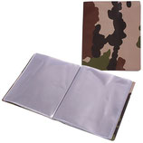Lutin A5 30 feuillets camouflage - ARES