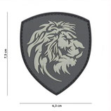 Patch Lion gris