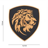 Patch Lion orange