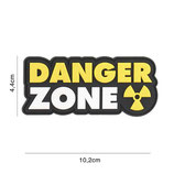 Patch Danger Zone Jaune