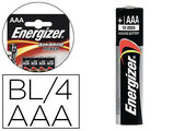 PILE ENERGIZER ALCALINE POWER  LR03 TAILLE AAA BLISTER 4U